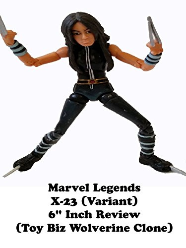 "Marvel Legends X-23 (variant) X-men Review 6"" inch action figure (Wolverine clone)"