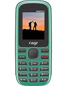 Rage Mobiles Bravo X1 Green + Black