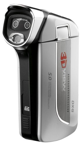 41 KWOJvKJL DXG USA DXG 5D7V Pocket 3D Camcorder and 3D Media Player Bundle