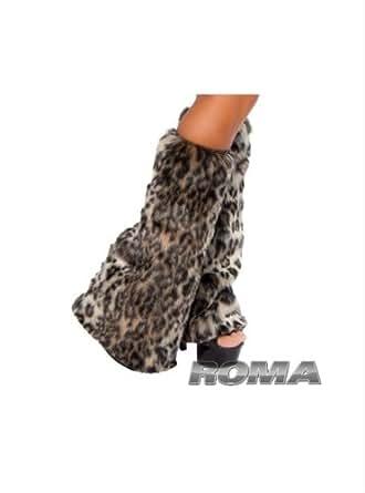 Amazon.com Fur Leg Warmers Costume Accessory Clothing