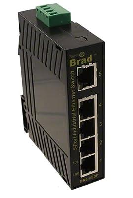 Molex 1120360039 Direct Link Series 300 Managed Ethernet Switch, 5-Port RJ45, IP30