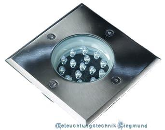 230V LED Wandeinbauleuchte Treppenleuchte Royal inklusive Unterputz Montagedose