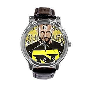 CM Punk Unique Diy Custom Photo Design Round Wrist Women Watch -S229