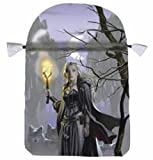 Witches Moon Satin Tarot Bag (0738735701) by Llewellyn