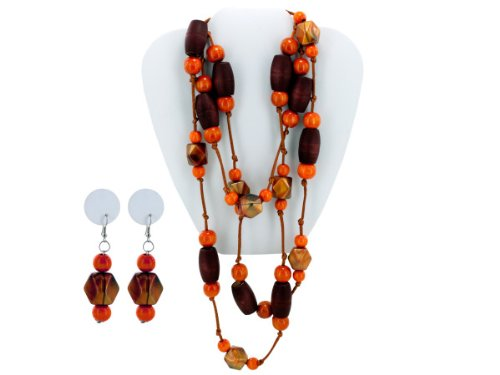 Wholesale Set Of 36, Beaded Necklace/Earring (Jewelry, Necklaces), $3.88/Set Delivered