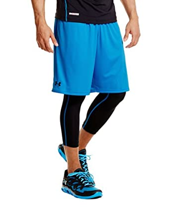 Under Armour Men's UA Micro Solid Shorts Small ELECTRIC BLUE