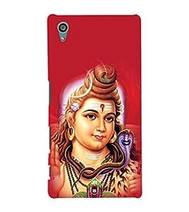 printtech Lord God Om Namah Shivaya Back Case Cover for Sony Xperia Z5::Sony Xperia Z5 Dual