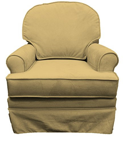 Komfy Kings Elite Glider, Buckwheat Velvet - 1