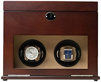 Hives and Honey Watch Winder and Men's Valet Box