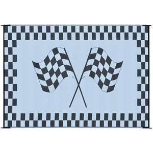 "Ming's Mark RF-6091 6"" X 9"" Mat Racing Flag"