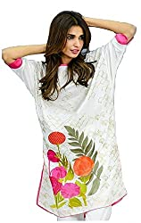 Aarna Fashion Cool Raspberry Short Dress Materials