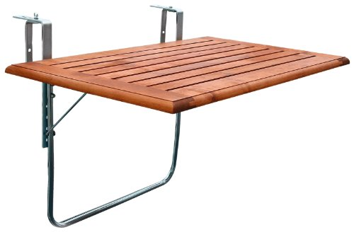 videx 16503 balkonklapptisch holz 80 x 50. Black Bedroom Furniture Sets. Home Design Ideas