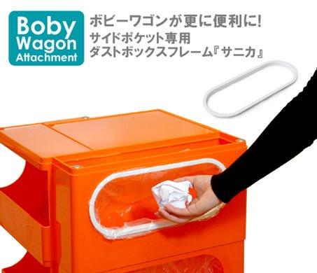 ボビーワゴン専用パーツ 「サニカー」 ダストボックスフレーム