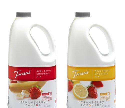 Torani Variety 2 Pk. Strawberry Flavor Smoothie Mix front-250726