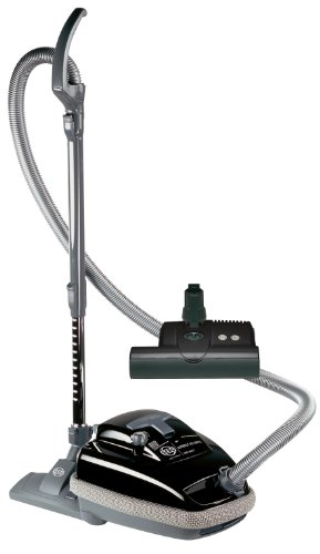Sebo 9688Am Airbelt K3 Canister Vacuum With Et-1 Powerhead And Parquet Brush, Black front-15149