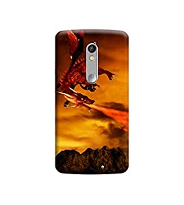Ebby Premium Printed Back Case Cover With Full protection For Motorola Moto X Force (Designer Case)
