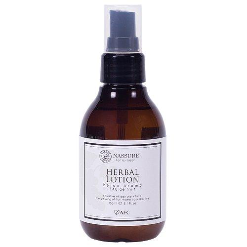 nassureナシュレー ハーバルローション オーガニックコスメ 自然派化粧品 天然アロマの香り