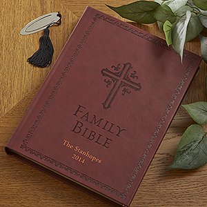 Personalized Family Bible - New King James front-1067489
