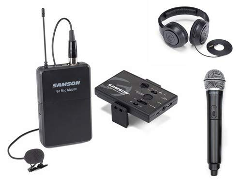 Samson Go Mic Mobile Combo Smartphone Wireless System