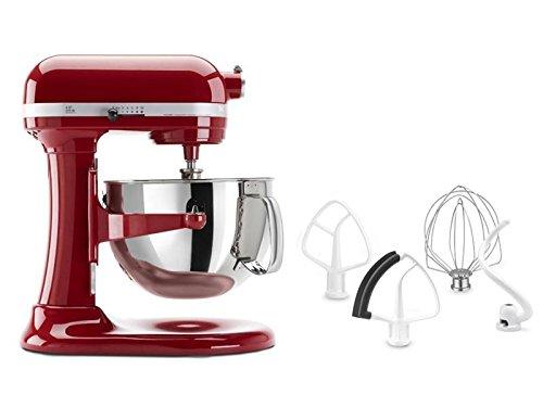 New Shop Kitchenaid 5.5-Qt. Professional 550 Plus Stand Mixer, Empire Red