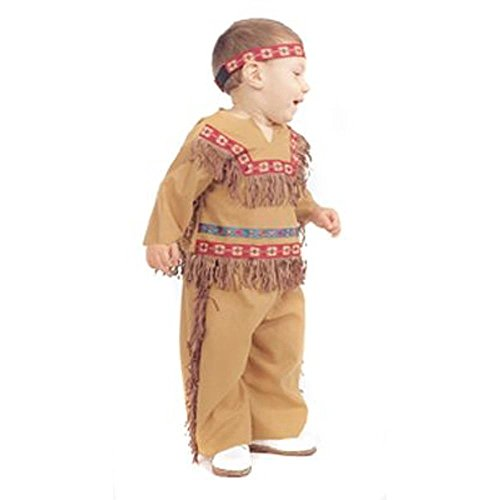 Toddler Indian Boy Costume (Size:2T)