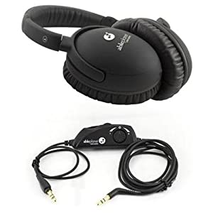 Able Planet PS400BIBVT Personal Sound Over Ear Stereo Headphones With In-Balance Volume/Tone Control (Black)