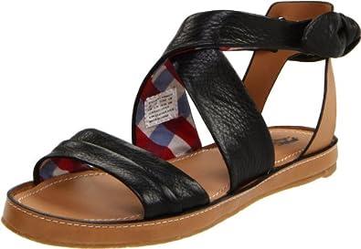 Hush Puppies Women's Regards Ankle-Strap Sandal,Black,6 M US
