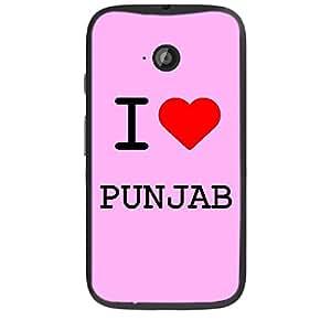 Skin4gadgets I love Punjab Colour - Light Pink Phone Skin for MOTO E2