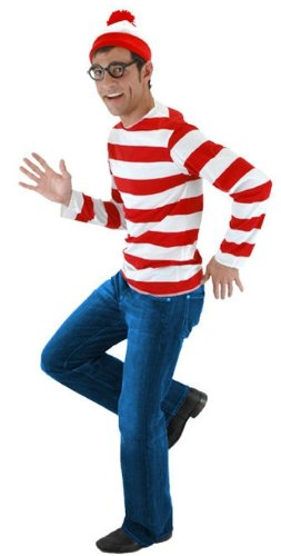Where's Waldo Costume Kit - Teen -Small/Medium