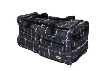 Koffer Trolley Tasche XL mit Rollen Design LEONARDO