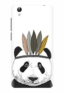 Noise Designer Printed Case / Cover for Vivo Y51L / Patterns & Ethnic / Panda Design