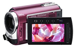 JVC Everio GZ-MG330 30 GB Hard Disk Drive Camcorder with 35x Optical Zoom (Red)