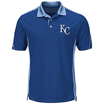 "Kansas City Royals Majestic MLB ""To The 10th"" Men's Performance Polo Shirt"