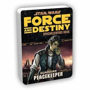 Star Wars Force and Destiny Peacekeeper Specialization Deck