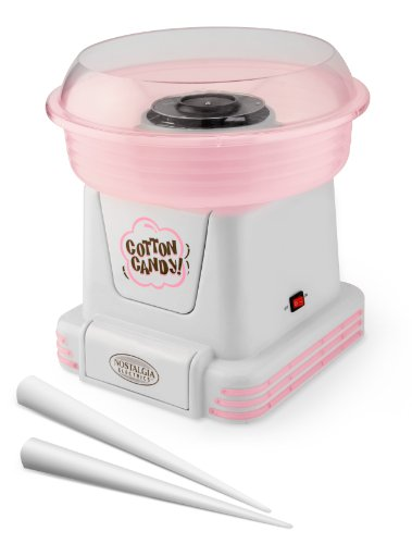 Nostalgia Electrics PCM-805 Hard Candy/Sugar Free Cotton Candy Maker