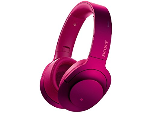 Sony-Hear-on-Wireless-NC-Headphone-Bordeaux-Pink-MDR100ABNP