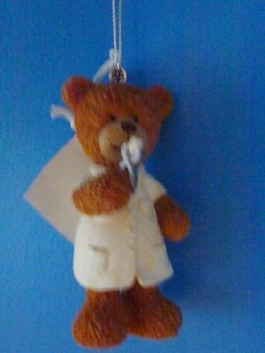 Dentist Teddy Bear Ornament