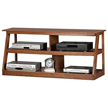 Adler TV Stand Finish: Concord Cherry, Size: 55""