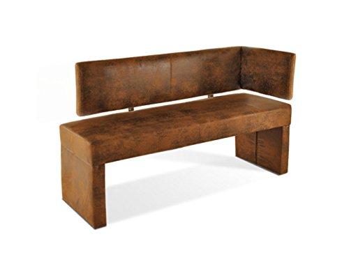 SAM-Ottomane-Sitzbank-Scarlett-in-Wildlederoptik-130-cm-Textil-Bezug-braun-Bank-komplett-mit-Stoff-bezogen-in-Eckbank-Lederoptik-teilzerlegt-Auslieferung-mit-Paketdienst