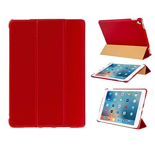 futlex-genuine-leather-smart-cover-case-for-ipad-pro-97-red-full-grain-leather-unique-design-multipl