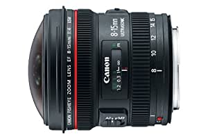 Canon EF 8-15mm f/4L Fisheye USM Ultra-Wide