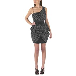 Alexander McQueen@ for Target Zig Zag Print Dress - Ebony/Charcoal : Target from target.com