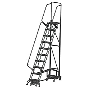 Narrow Aisle Rolling Ladders Navfr10 Amazon Com