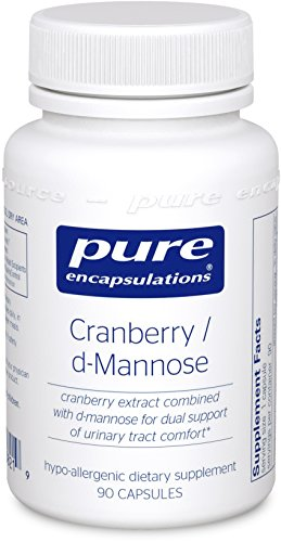 Pure Encapsulations - Cranberry / d-Mannose - Hypoallergenic Supplement to Support Urinary Tract Health* - 90 Capsules (Pure Encapsulations D Mannose compare prices)