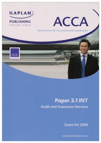 Audit and Assurance Services International Stream (ACCA Exam Kit)