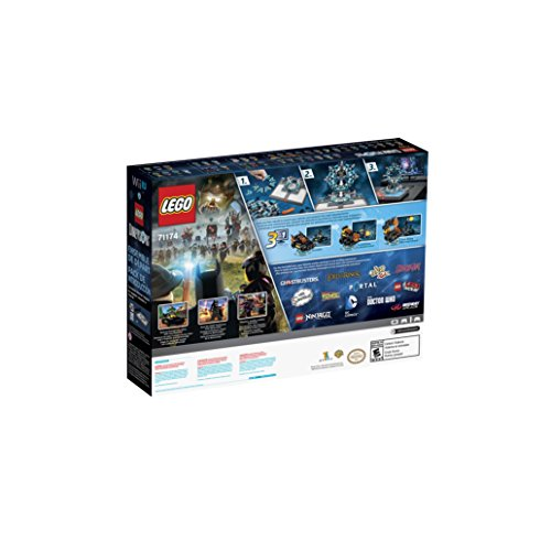 lego dimensions starter pack nintendo wii u import it all. Black Bedroom Furniture Sets. Home Design Ideas