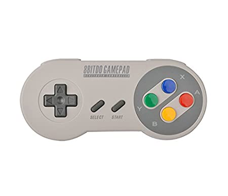 Import - 8Bitdo Mando Bluetooth Super Nintendo Colores SFC30