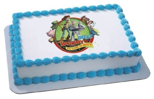 Toy Story Woody Edible Cake Image