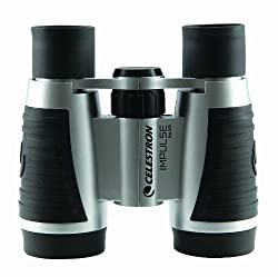 Celestron 140990 5x30 Impulse Compact Binocular (Black/Silver)
