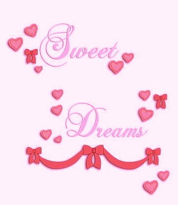 Babi Italia Dolce Wall Decals, Sweet Dreams, 4 Sheets Self-Stick 10x18 Inches